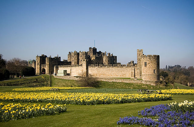 Alnwick Castle in Alnwick, Northumberland