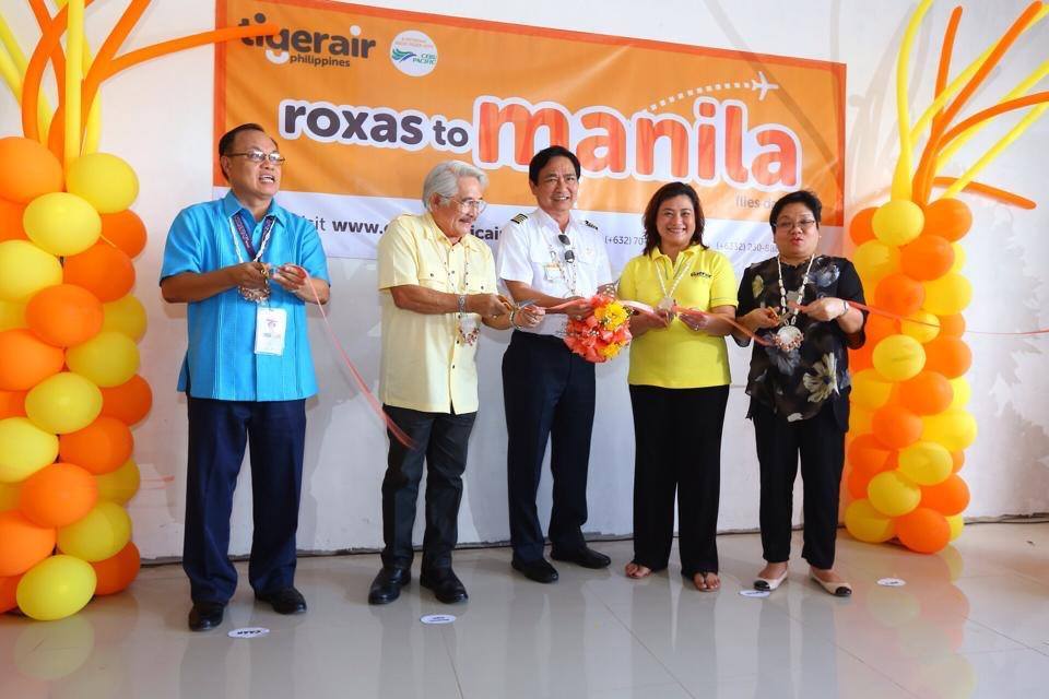 Tigerair Launch of Manila-Roxas Service