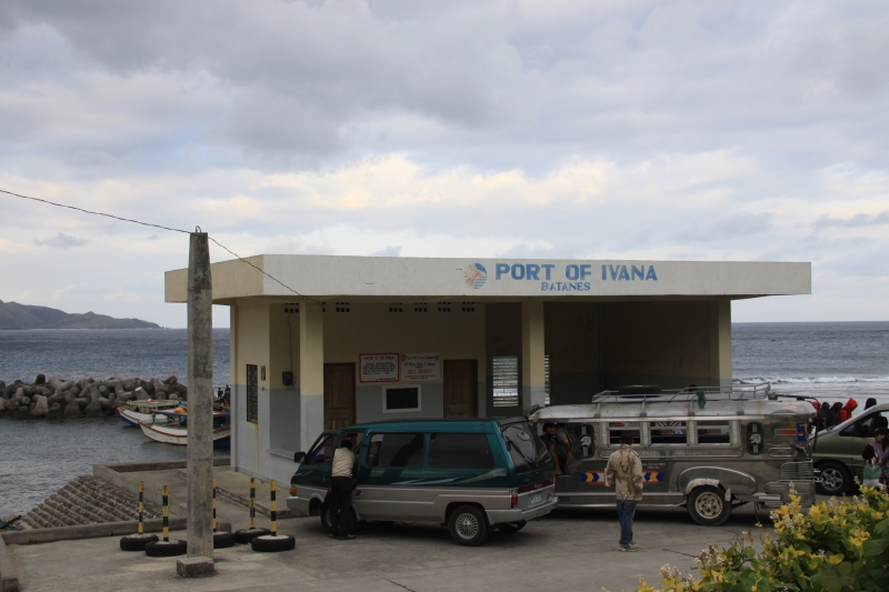 Port of Ivana in Batanes